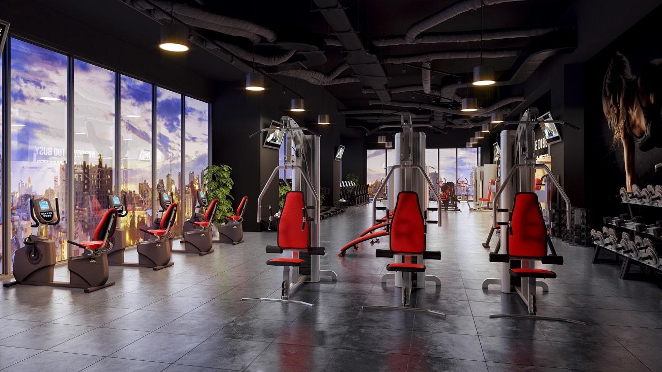 Phòng tập Gym chung cư Stella