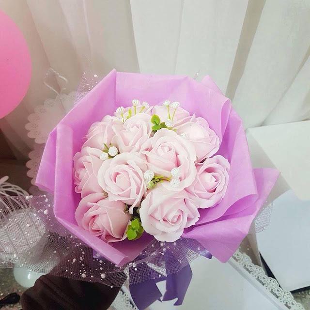 Giay goi hoa o Phu Xuyen