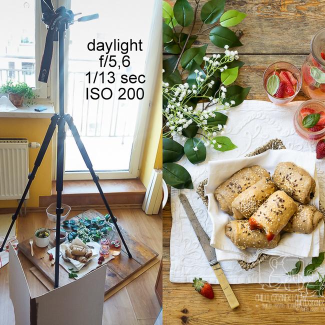 Fotografia kulinarna zza kulis - blogerka zdradza, jak i gdzie robi zdjęcia i jakim sprzętem fotografuje.