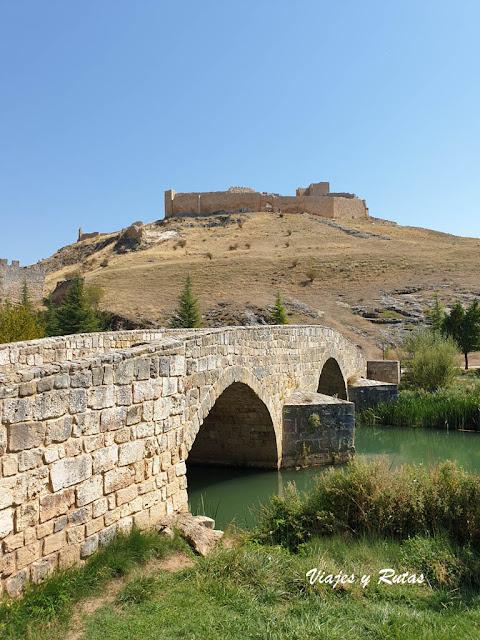 Castillo de Osma y río Ucero, Soria