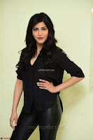 Shruti Haasan Looks Stunning trendy cool in Black relaxed Shirt and Tight Leather Pants ~ .com Exclusive Pics 043.jpg