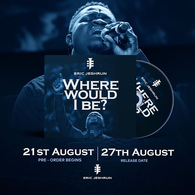 """Eric Jeshrun out with """"Where Would I Be?"""" ahead of his August Worship concert"""