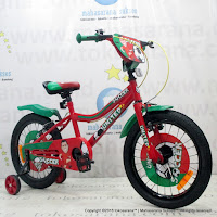 18 Inch United Soccer Kids Bike