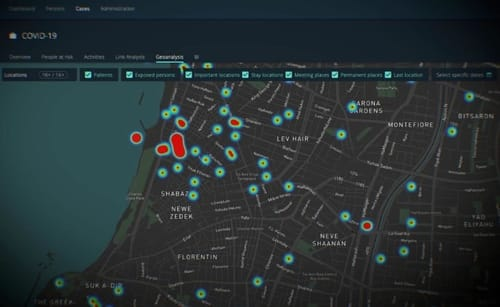 NSO Fleming Technology uses real-world location data
