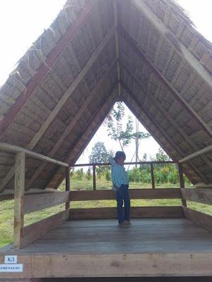 Harga sewa gazebo Desa Wisata Ekang Bintan