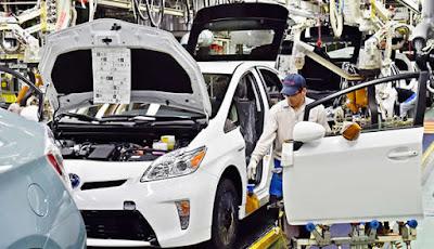 Toyota fábricas no Japão