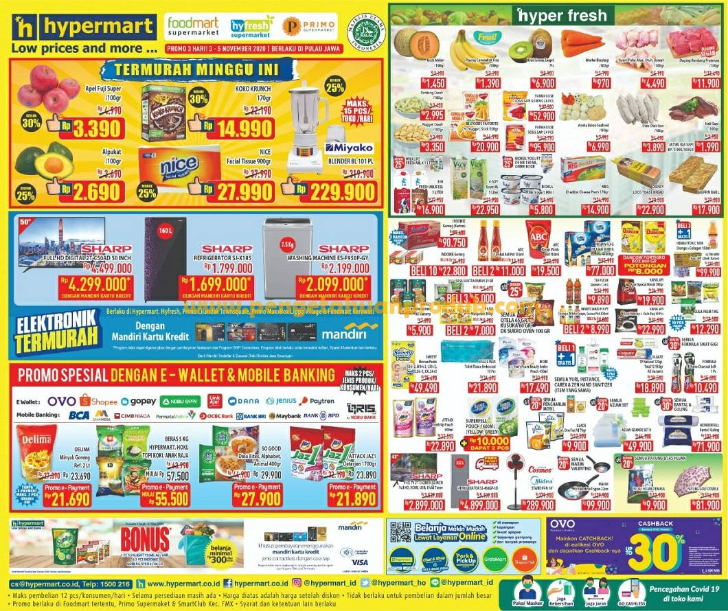 Katalog Promo Hypermart Weekday 3 6 November 2020