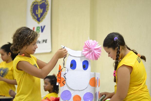 Cultura Brasileira é vivenciada por crianças e adolescentes da LBV em Pernambuco