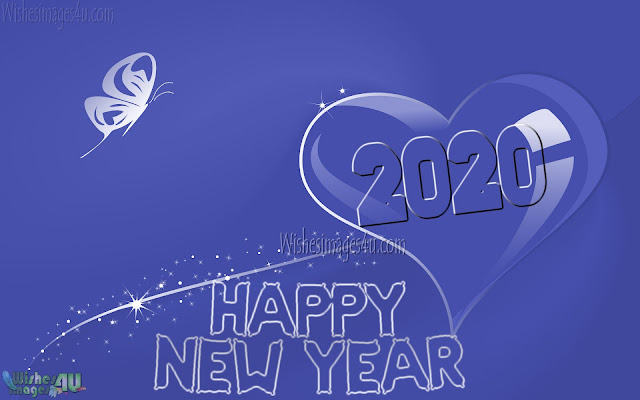 Love New Year 2020 HD Desktop background