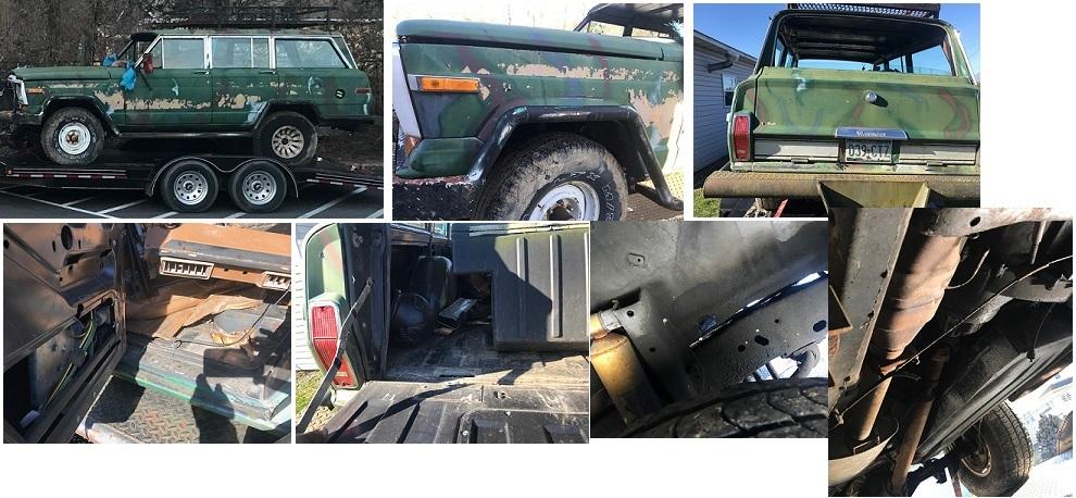 Saving Jeep Grand Wagoneers: JEEP ALERT: (SOLD) PENNSYLVANIA
