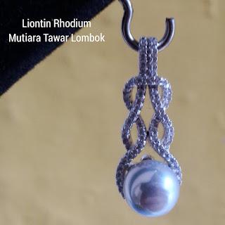 Liontin Mutiara Air Tawar Lombok