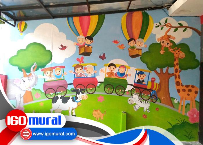 Lukisan-Dinding-Taman