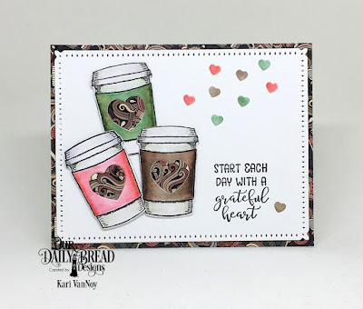 Our Daily Bread Designs Stamp/Die Duos: Hug In A Mug, Custom Dies: Mini Cups & Mugs, Cups & Mugs, Snowflake Sky, Paper Collection: Latte Love