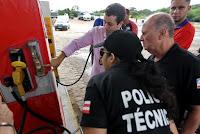 Irregularidades em postos de combustíveis