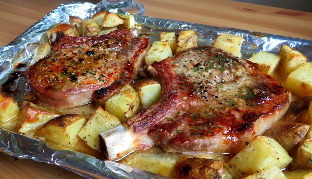 Garlic & Brown Sugar Pork Chops