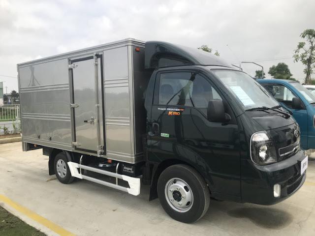 Giá xe tải Thaco Kia K200 thùng kín tại Hà Nội