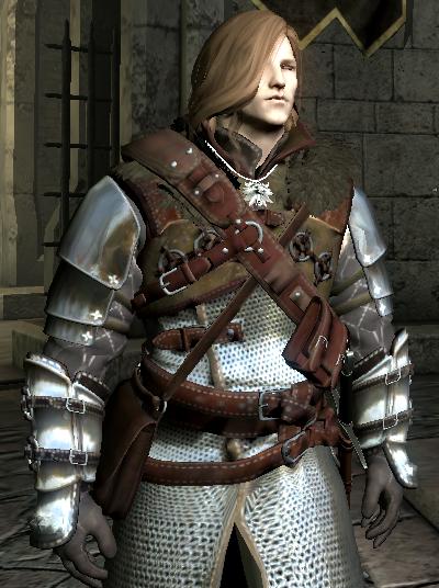 Skyrim Mods Highlights: The Witcher 3 Ursine Armor Set