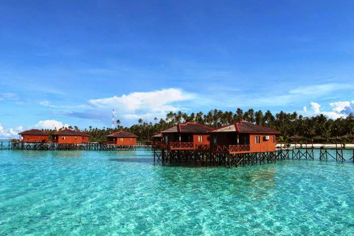 Menikmati Keindahan Pulau Maratua, Maldives nya Indonesia.