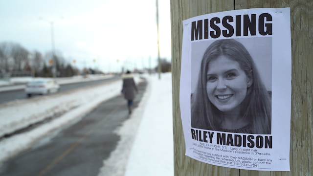 A flyer about Riley going missing
