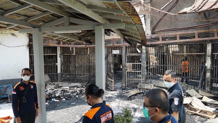 Mabes Polri : Kebakaran Lapas 1 Tangerang Diindikasikan Dugaan Kelalaian