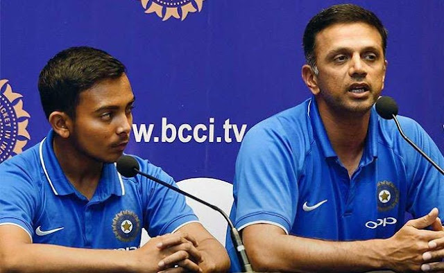 """This is Rahul Dravid's last six-month salary last year, half of Ravi Shastri!"