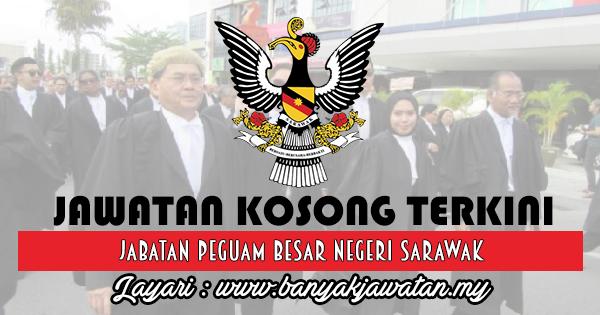 Jawatan Kosong 2018 di Jabatan Peguam Besar Negeri Sarawak