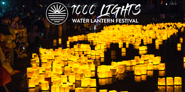 1000 Lights Water Lantern Festival 2019