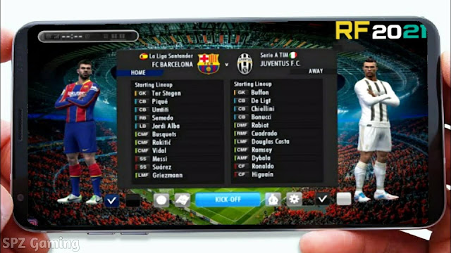 Real Football 2021 Android Offline 250 MB Best Graphics - RF 21 Mobile
