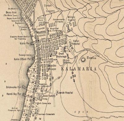 Old map Kalamaria