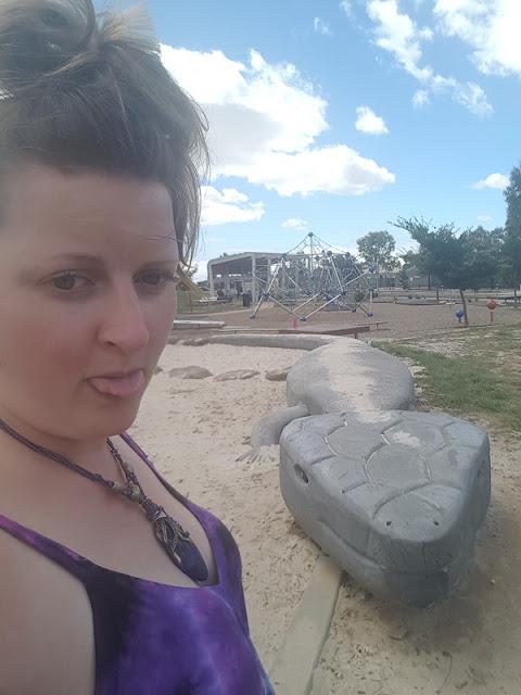 BIG Blue Tongued Lizard in Tarneit | Melbourne BIG Things