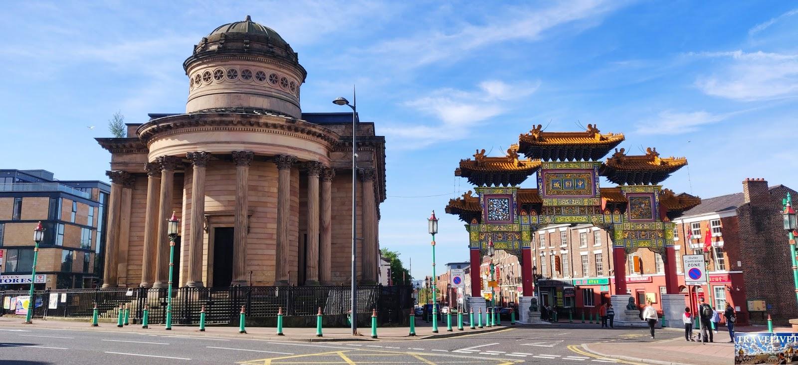 Angleterre Liverpool ChinaTown