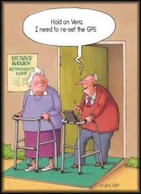 Need to reset the GPS..