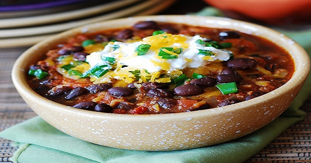 Beef Chili With Black Beans Recipe