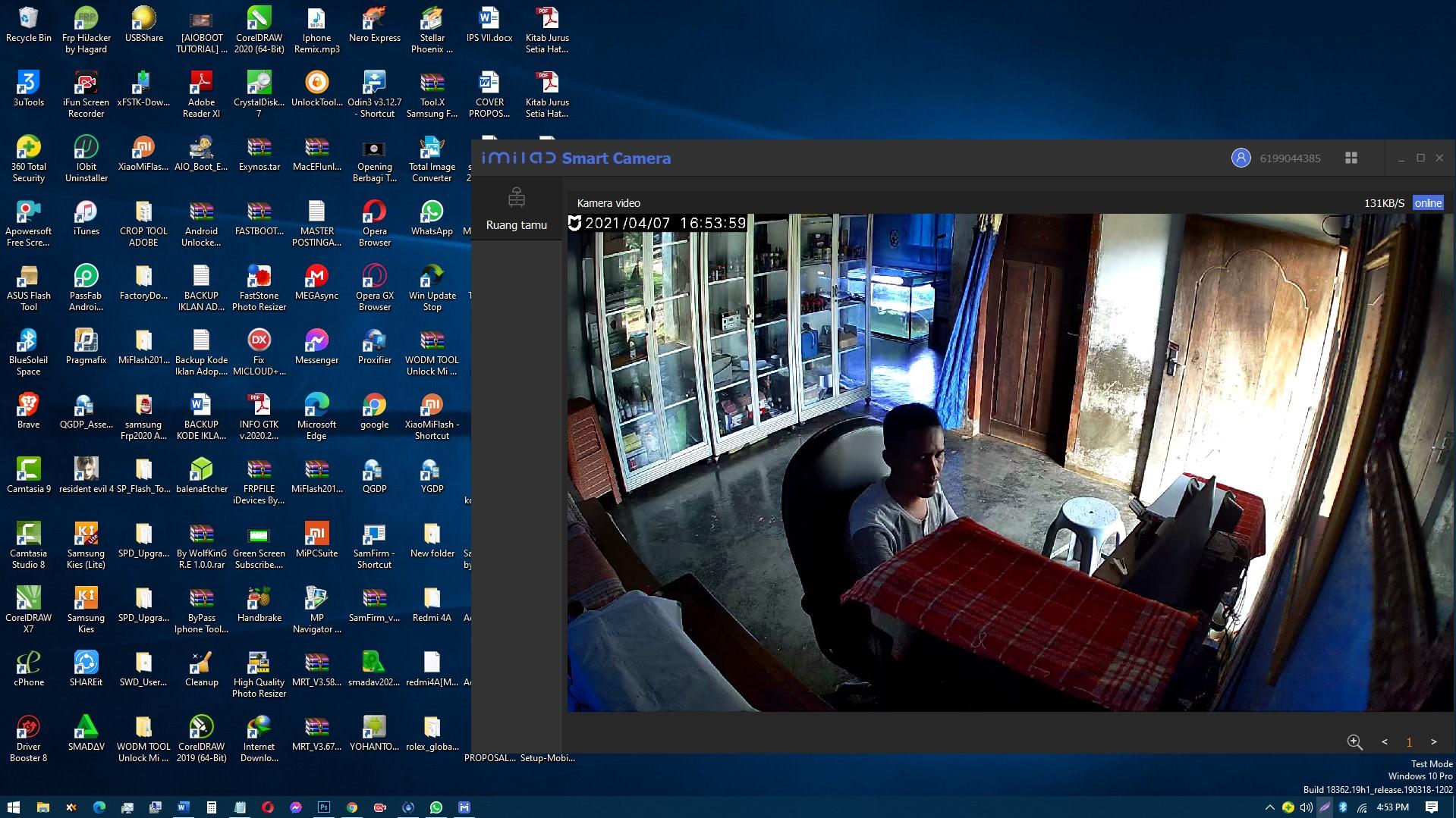 Mi Home Security Camera 360 Setup for PC
