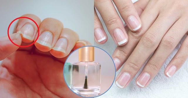 Vernis à ongles fait maison: ongles longs et forts