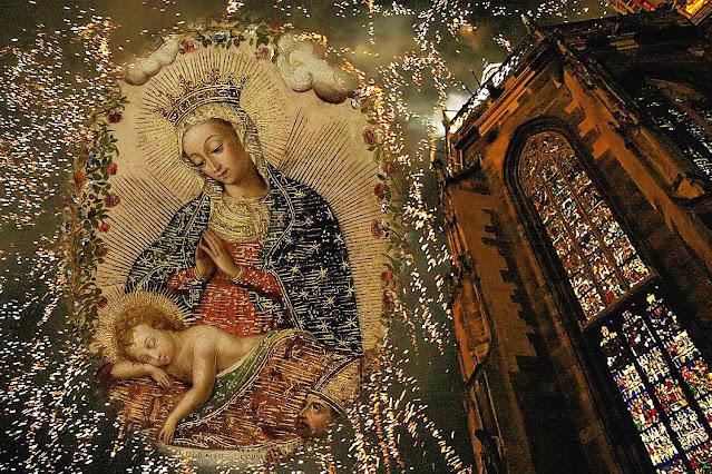 Natal 2020, anônimo peruano e igreja colegiata de Thann, Alsacia