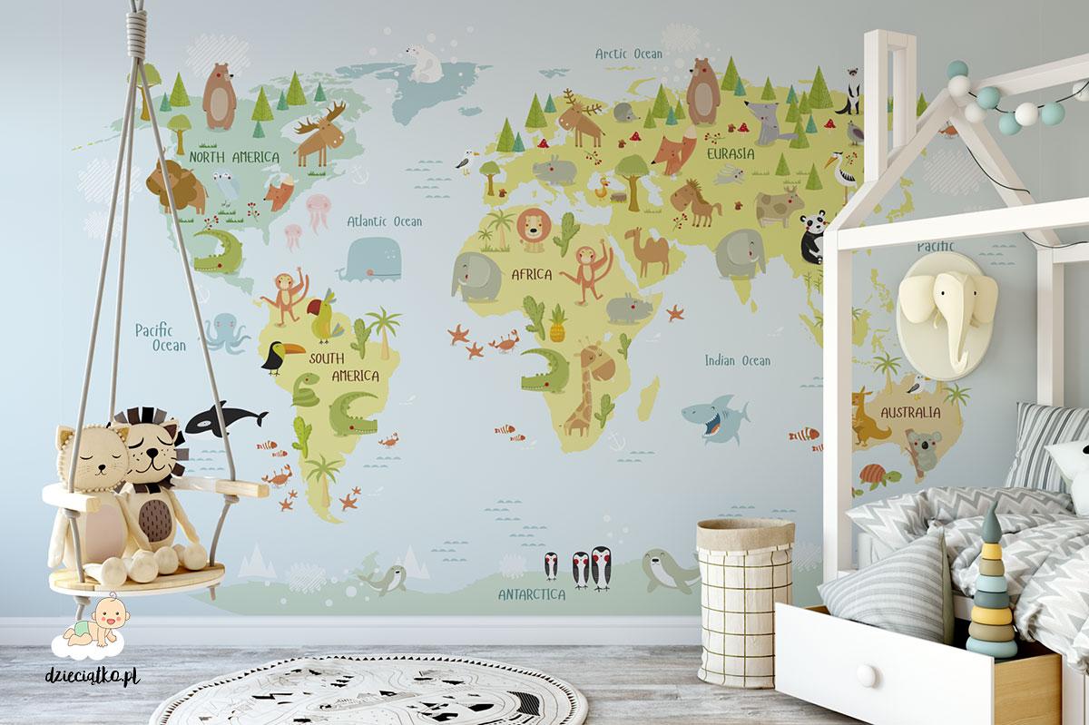Mapa do pokoju dziecka