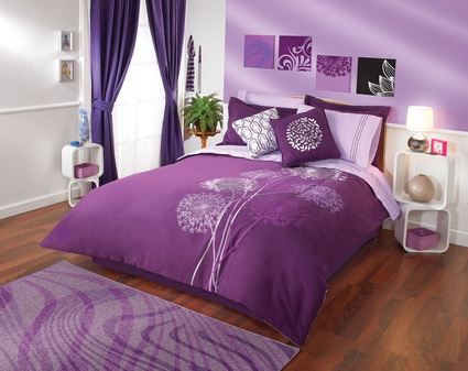 Lilac Bedrooms With Nice Colors 7
