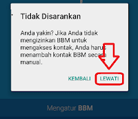 Cara mendaftar bbm