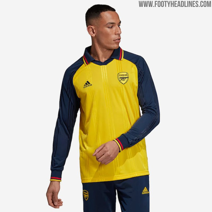 best website ebe0e a1a25 Adidas Arsenal 19-20 Icon Retro Jersey Released + Prototype ...