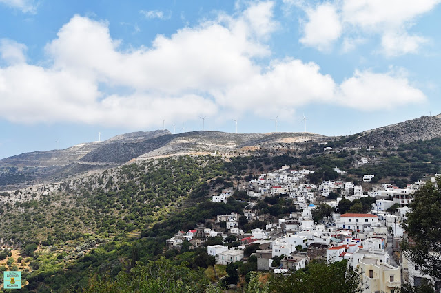 Koronos, isla de Naxos (Grecia)