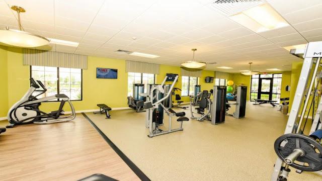 Academia do condomínio Storey Lake Resort em Orlando