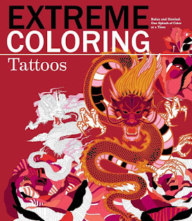 Extreme Coloring Tattoos: Relax and Unwind, One Splash of Color at a Time