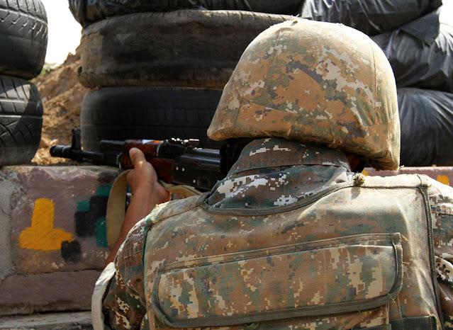 Армянского солдата обезглавили азербайджанские военные, затем сообщили об этом брату и выложили фото в сети!