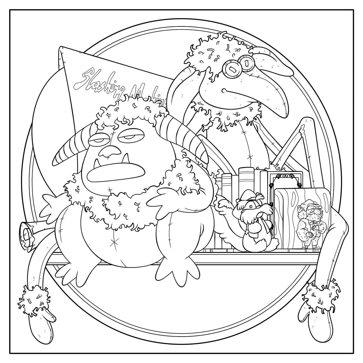 Muppet Stuff: Labyrinth Coloring Book Now Available!