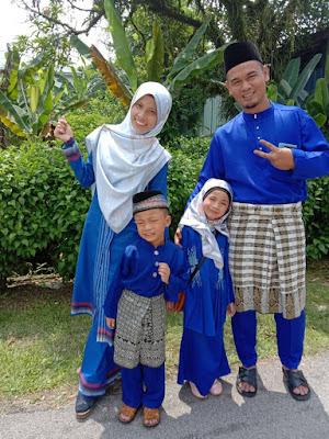 AidilFitri 2019 Team Royal Blue raya 2019 sedondon raya raya sedondon team blue team raya rumah mertua team raya selangor team raya shah alam OOTD Raya 2019 OOTD RAya