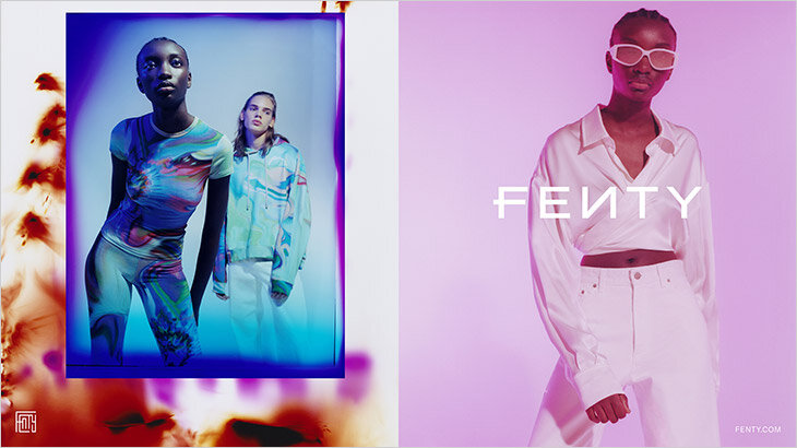 FENTY R6.20-DROP1 Campaign Lensed by Lea Colombo Honors Rebellious Creative Aesthetic