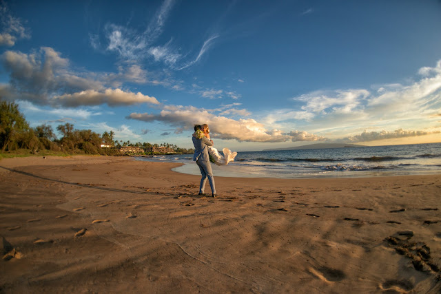 maui beach wedding, poolenalena beach maui, marry me maui