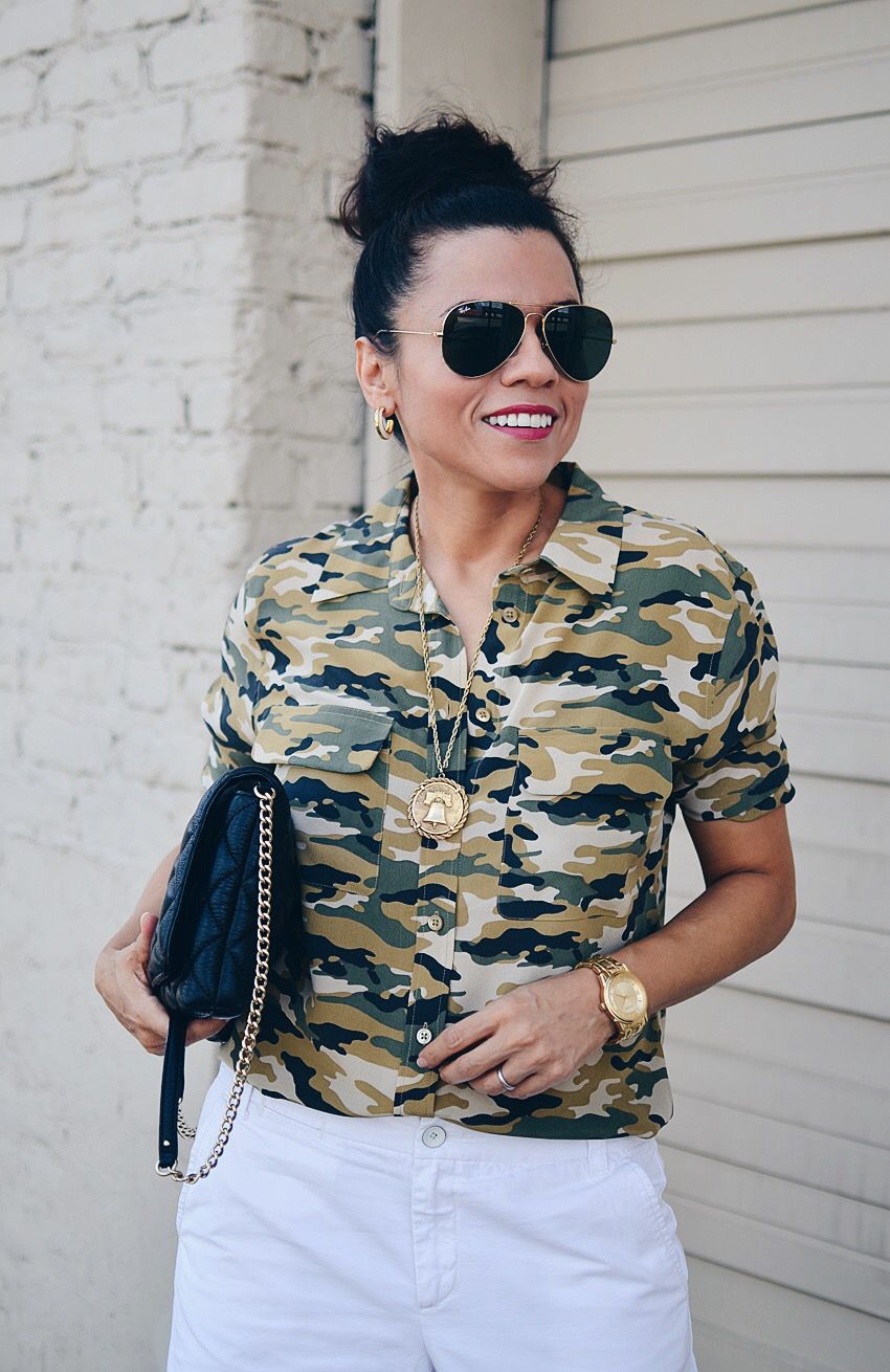 Military inspired trend