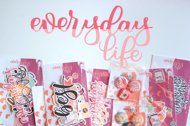 EverydayLife abbellimenti scrapbooking e planner | www.kkushi.com
